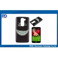 China Motorola Mobile Phone Protective Cases , Moto G2 Smile Face Hard Shell on sale
