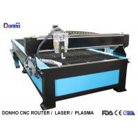 China Startfire Control CNC Plasma Metal Cutting Machine With Hypertherm Plasma Power Supply wholesale