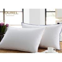 China 4 - 5 Star Hotel Quality Pillows 30% Duck Down Pillows 50*80cm on sale