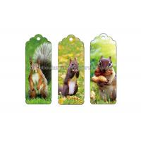 China 0.6 PP Customizable 3D Lenticular Bookmark Personalised Bookmarks For Students wholesale