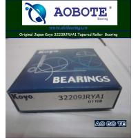 China Gcr15 Koyo Taper Roller Bearing 32209JRYA1 , Sealed 2RS and Chrome Steel wholesale