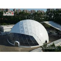 China Cheap 30 Diameter Waterproof  Geodesic Dome Tents For Outdoor Wedding Event Party Tents wholesale