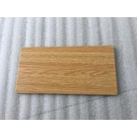 China Wooden Colors Aluminum Sandwich Panel , High Strength Aluminum Laminated Panels  wholesale