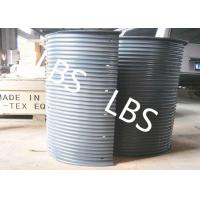 China Hydraulic / Electric Winch Drum Lebus Sleeve 100-5000M Rope Capacity wholesale