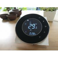 China Round touch screen thermostat/wired controller/ wholesale