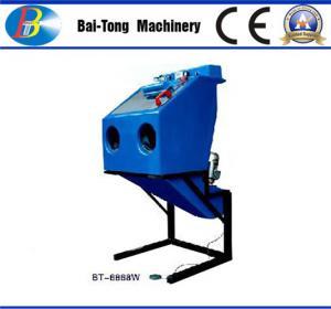 Buy cheap Dustless Reinforced Wet Sandblasting Cabinet Feed Abrasive 4 - 6kg For from wholesalers