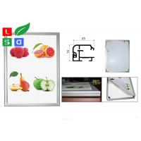 China Standard Size A0 A1 A2 Light Up Movie Poster Frames , Low Flickering Snap Frame LED Light Box wholesale
