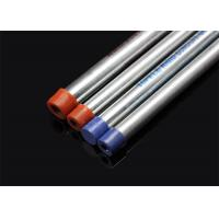 China BS 4568 / BS 31 Hot Dip Galvanized Metal Conduit Pipe With Screwed Ends And Caps on sale