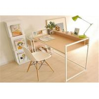 China Pretty Modern Furniture Table Wood And Metal Computer Desk For Students wholesale
