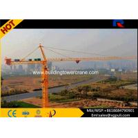 China 380V/50Hz Power Electric Hammerhead Tower Crane 41m Free Height wholesale