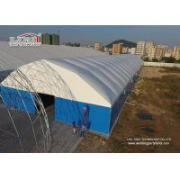 China Metal Frame Structure Industrial Storage Tents with Thermo PVC Roof Cover wholesale