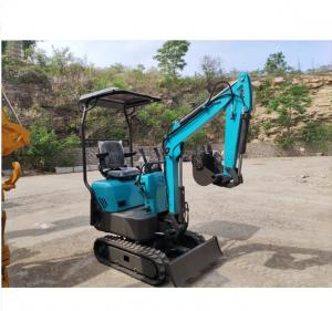1 Ton 7.0kw Mini Crawler Excavator Digger For Public Park