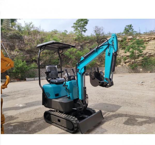 Quality 1 Ton 7.0kw Mini Crawler Excavator Digger For Public Park for sale