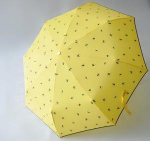 China Micro Mini Manual Open Umbrella , Wind Resistant Rain Umbrella8 Durable Ribs wholesale