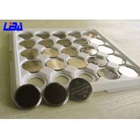 Buy cheap Motherboards Primary Li - MnO2 Button Cell Battery , Different Solder Tabs 3 Volt Battery from wholesalers