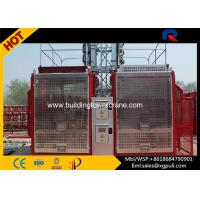 China Convertible Material Lift Elevator , Rack Pinion Hoist For Construction wholesale