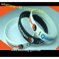 China Regional Feature and Printed Technique custome christmas silicone wrisbtbands wholesale