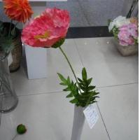 China Artificial Flower, Single Poppy,Pink Poppy wholesale