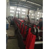 China 3MM Q195-235 C Purlin Forming Machine With 18 Forming Roller Cold Bending Machine Steel Construction Area wholesale