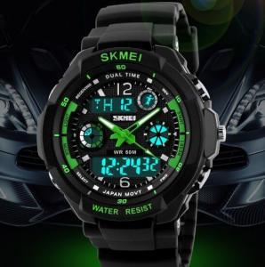 China Multi Function Military S-shock Sports Watch LED Analog Digital Waterproof Alarm Skmei 0931 wholesale