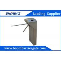 China 30 Persons / Min Swing Arm Tripod Turnstile Gate With Direction LED Light Sign wholesale