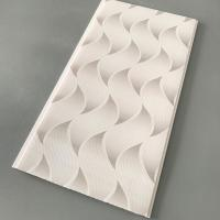 Quality Flat Pvc Panels For Ceiling , Waterproof Bathroom Ceiling Panels Brilliant Printing for sale