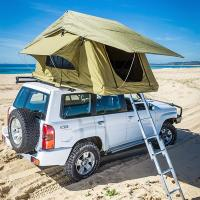 China Aluminum Pole Pick Up Roof Tent , Jeep Wrangler Unlimited Roof Top Tent wholesale