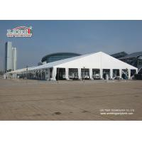 China White Waterproof Translucent Portable Second Hand Marquee Tents Heavy Duty with 40m Width wholesale