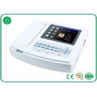 China Portable 12 lead ECG machine , Electrocardiograph ECG EKG Machine Multifunction wholesale