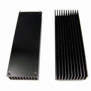 China Anodized Heatsinks with Precision CNC Machining, Made of Aluminum wholesale