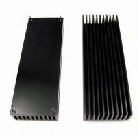 Buy cheap Anodized Heatsinks with Precision CNC Machining, Made of Aluminum from wholesalers