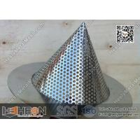 """China 2"""" Conical Perforated Metal Mesh Filters wholesale"""