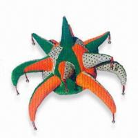 China Hat, Available in Orange, Green, and Silver Colors, Suitable for Parties wholesale