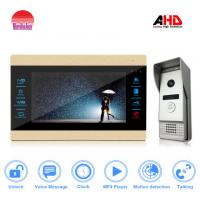 China new arrival home security system 10inch lcd monitor video door phone with ce fcc rohs camera wholesale