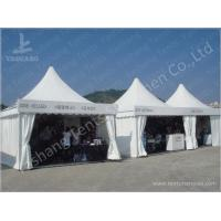 Custom Exhibition High Peak Frame Tent Pagoda Replacement Canopy Pavilion