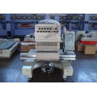 China Jackets Towels Bags Single Head Embroidery Machine , Industrial Embroidery Sewing Machine With 15 Needles wholesale