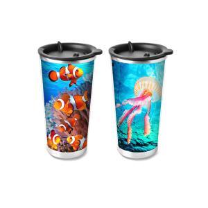 China Custom Plastic Food Grade 3D Lenticular Custom Printing Drinking Cup Plastic Kids Cups wholesale