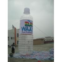 China inflatable product model replica / Exciting inflatable water bottle  / PVC Inflatable giant bottle games wholesale