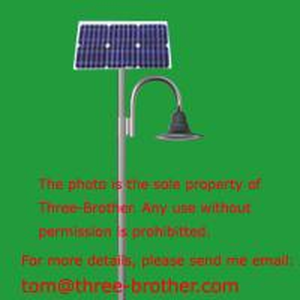 China Standard LED solar garden lighting (18W) wholesale