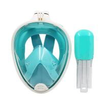 China Free Breathing Diving Full Face Mask , SEA Vision Snorkel Underwater Face Mask wholesale