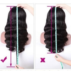 black bodywave wig