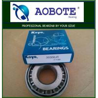 China High Precision Tapered Roller Bearing ABEC-5 Koyo 30306JR Used In Automotive wholesale