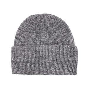 China Unisex Wool Acrylic Soft Knit Beanie Cap Customize Pattern wholesale