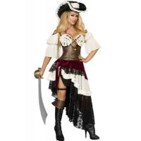 China Pirate Costumes Wholesale Sexy Pirateer Halloween Costume Wholesale from Manufacturer Directly carnival Costumes on sale