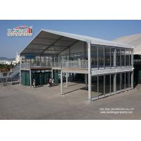 Wholesale Two Floor Double Decker Tents Clear Span Decoration with