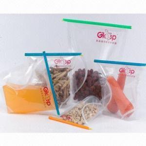 China Fresh Lock Food Bag Clips/Zippers, Keeps Foods Fresh wholesale