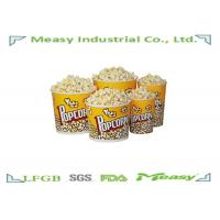 China 64oz Popcorn Paper Containers With Personalised Design Printing wholesale