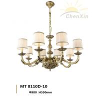 China Heavy Warm White Pendant Chandelier Lighting Vintage Drop Lights For Lobby wholesale