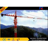 China Building Tower Crane Self - Erecting Hammer Head With Electric Box Schneider wholesale