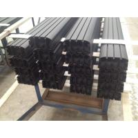 China Sand Blasted Black Powder Coating Aluminum Industrial Profile for Auto Aluminum Profile wholesale